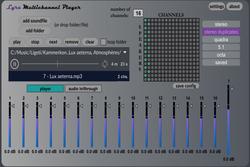 Lyra Multichannel Player